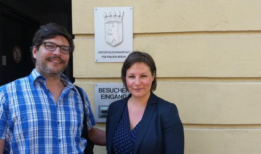 2016-05-11 Besuch JVA Lichtenberg mit Dirk Behrendt